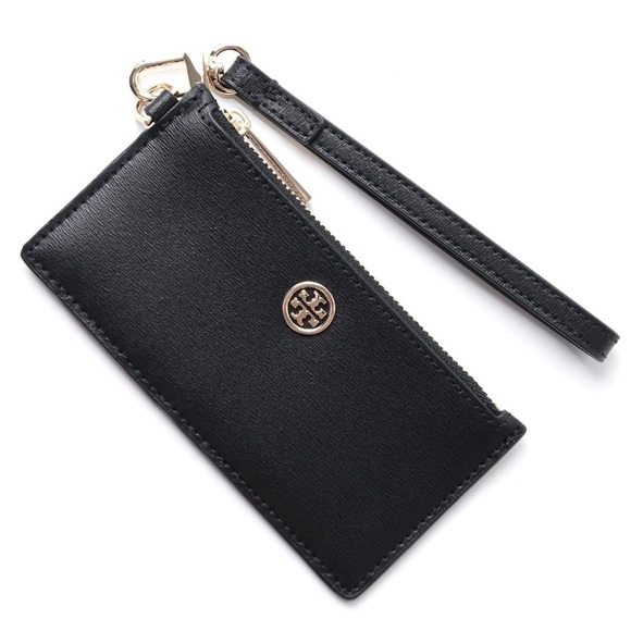 new arrival a1ca0 a2437 Barely Used!! Tory Burch Parker Zip card case